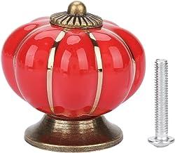 Keramische handgrepen - Keramische pompoen knoppen Europese stijl handvat pull voor kasten kast dressoir laden keuken meub...