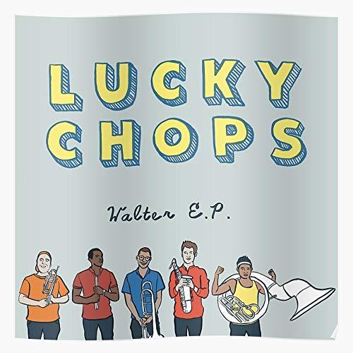 Bestofthebunch Lucky Chops Lucjy NYC Album Band Cover Geschenk für Wohnkultur Wandkunst drucken Poster 11.7 x 16.5 inch