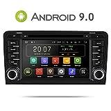 Aumume Android 9.0 Autoradio GPS DVD pour Audi A3/S3 Navigation de Voiture Ecran...
