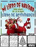 Mi Libro de Navidad Para Ninos de 5 a 10 anos | Libro de Actividades: Colorear , Diferencias , Mandalas , Pixel Art