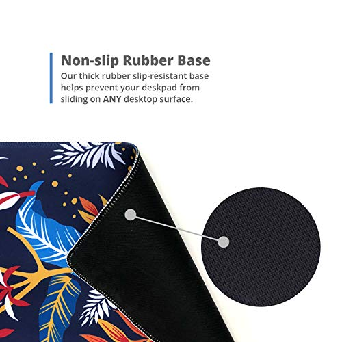 """French Koko Mouse Pad XL 30.7"""" x 14.9"""", Gaming Mouse, Computer Mouse Pads, Large Mouse Pad, Gaming Desktop, Gaming Desk Mat, Gaming Accessories, Mouse Gaming (Metal Workspace) Photo #6"""