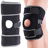 Speeron Knieschoner: Sport-Kniebandage mit Patellaschoner und Gel-Kissen, Universalgröße (Knieschutz)