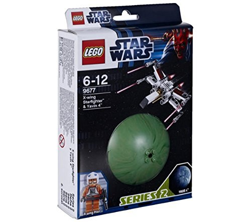 LEGO Star Wars 9677 - X-wing Starfighter und Yavin 4