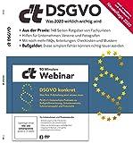 c't DSGVO 2020 - Was 2020 wirklich wichtig wird: Der Ratgeber c't DSGVO erscheint als stark erweiterte und aktualisierte Neuauflage mit noch mehr FAQs, ... Umgang mit der Datenschutz-Grundverordnung.