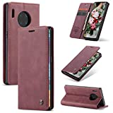 XINYUNEW Holsters Case for Huawei Mate 30 Pro,Vintage PU