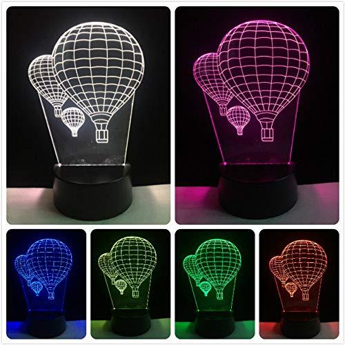 Ich liebe dich Liebhaber Herz Ballon 3D LED USB Licht romantische Dekoration 7 Farben Nachtlicht Freundin Geschenk Muttertag Hochzeit