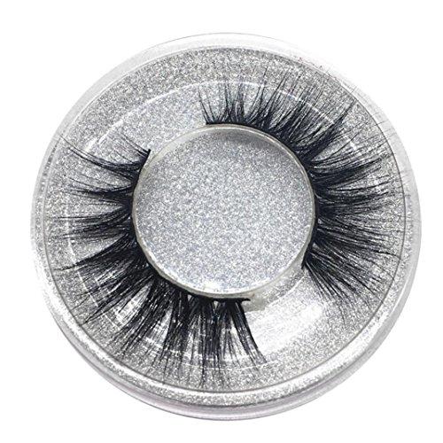 Falsche Wimpern, MMLC 1 Paar Luxus 3D Falsche Wimpern Flauschigen Streifen Wimpern Lange Natürliche...