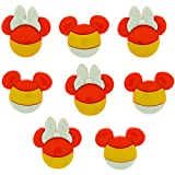 Dress It Up 7923 Disney Button & Embellishments, Mickey & Minnie Candy Corn
