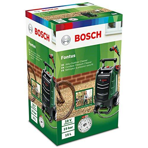 Bosch Akku Outdoor Reiniger Fontus – Wassertank & Akku - 9