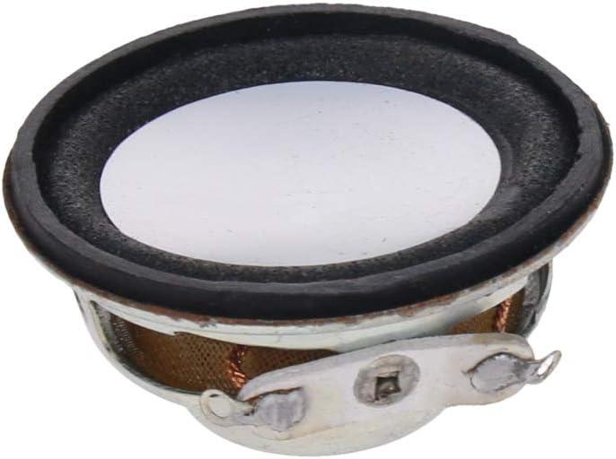Fielect DIY Magnetic Speaker 1W 8 Ohm 50mm Diameter Round Shape Replacement Loudspeaker 4pcs
