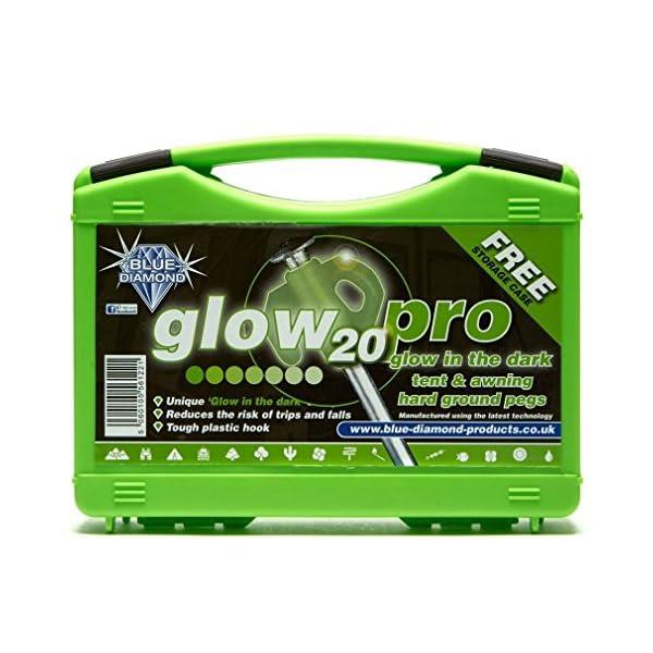 Blue Diamond Glow Pro Pegs 1