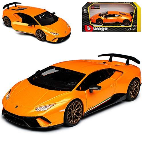 Lamborgihini Huracan Performante Coupe Orange Modell Ab 2014 Version Ab 2017 1/24 Bburago Modell Auto