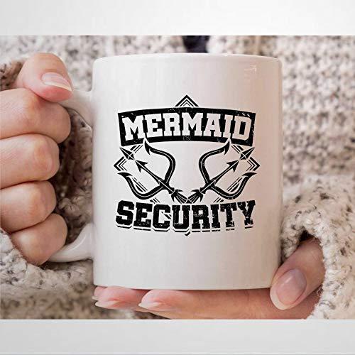Mer-Maid - Taza de café de seguridad para hombre, diseño de Mer-Maid
