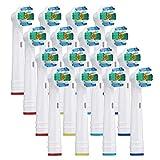 電動歯ブラシ オーラルB 対応 替えブラシ Oral B 入り ベーシックブラシ 3D White 家庭用 16本