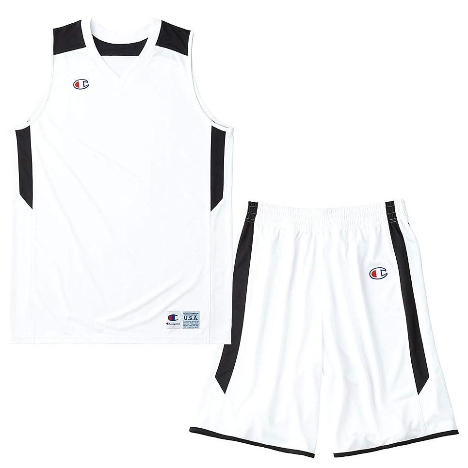広範囲にまたはどちらかマディソンチャンピオン(champion) ゲームシャツ&パンツ上下セット(ホワイトブラック/ホワイトブラック) CBR2206-WK-CBR2266-WK