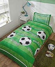 Goal Football - Juego de Funda nórdica y Funda de Almohada