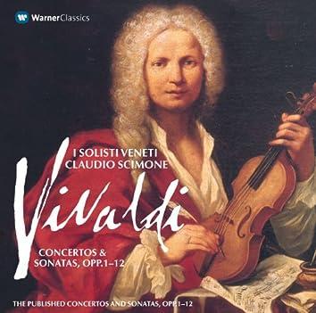 Vivaldi : Concertos & Sonatas Opp. 1 - 12 Volume 1