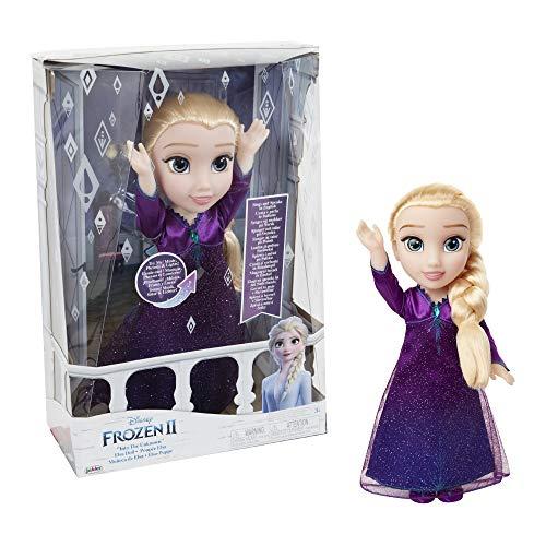 Giochi Preziosi- Elsa Cantante con Luci e Suoni Frozen Bambola, Multicolore, FRN89000