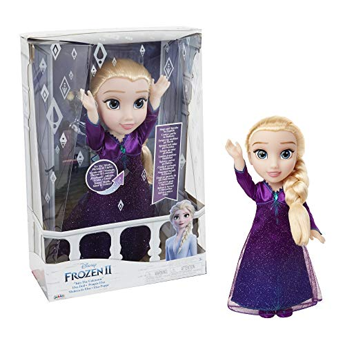 Giochi Preziosi FRN89000 zanger-Elsa met licht en geluiden, meerkleurig