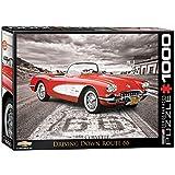 Eurographics 1957 Puzzle Voiture Classique Corvette 1000 pièces