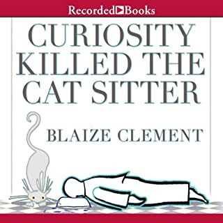 Curiosity Killed the Cat Sitter audiobook cover art