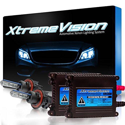 Xtremevision 35W Xenon HID Lights with Premium Slim Ballast - Bi-Xenon...