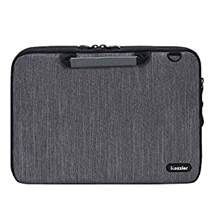 iCozzier 13-13.3 Inch Handle Laptop Briefcase Shoulder Bag Electronic Accessories Organizer Messenger Carrying Case with…