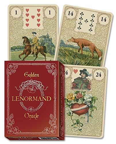 Golden Lenormand Oracle - Adivinación - Cartas Tarot