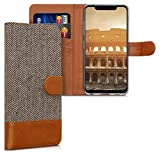 kwmobile Wallet Case Compatible with LG G8s ThinQ - Fabric