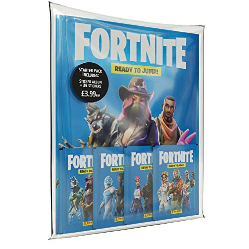 Panini 2518-038 Fortnite stickers Starter Pack