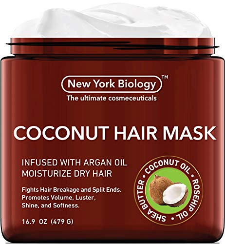 (40% OFF Coupon) Coconut Hair Mask for Growth & Volume $11.37