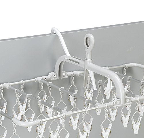 ツウィンモール『横持ちアルミ洗濯ハンガー』