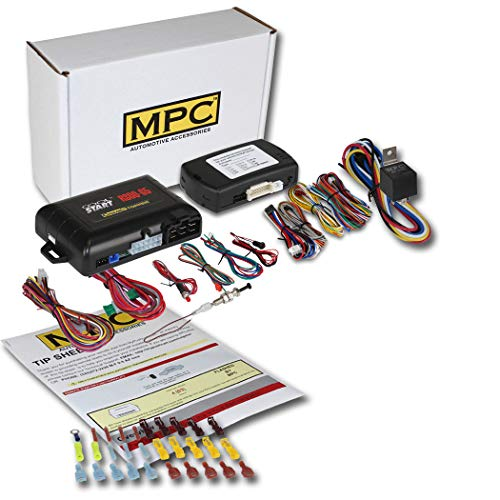MPC Factory Remote Activated Remote Start Kit for 2013-2019 Hyundai Santa Fe - Push-to-Start - Firmware Preloaded