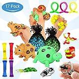Ucradle Fidget Spielzeug Set (17 Stück), Anti Stress Angst Stressabbau, 8 Arten von Sensorische...