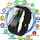 MKO Neue Fitness Smart Uhr-Fitness Tracker-Schrittzähler Pulsmesser Wasserdicht IP67 Laufsport Smart Armband