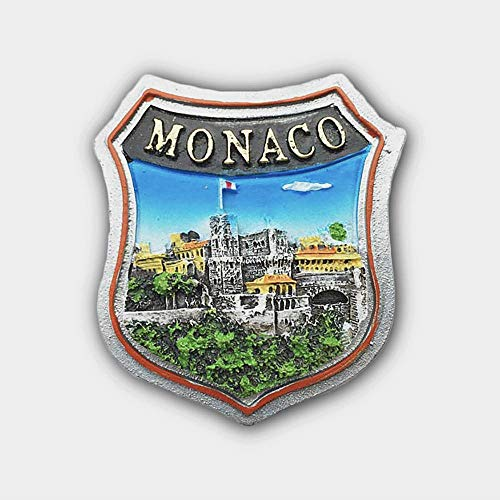 3D Ancient Castle Palace Of Monaco Fridge Magnet,Home & Kitchen Decoration Magnetic Sticker Monaco Refrigerator Magnet tourist souvenir gift