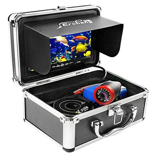 XIWAN Angeln Kamera Infrarot-Lampen-Fisch-Sucher-7-Zoll-15M 1000TVL Wasserdicht IP68 Video-Unterwasserkamera 12 PCS Infrarotlampe Eisfischen Unterwasserkamera (Size : Without Video Function)