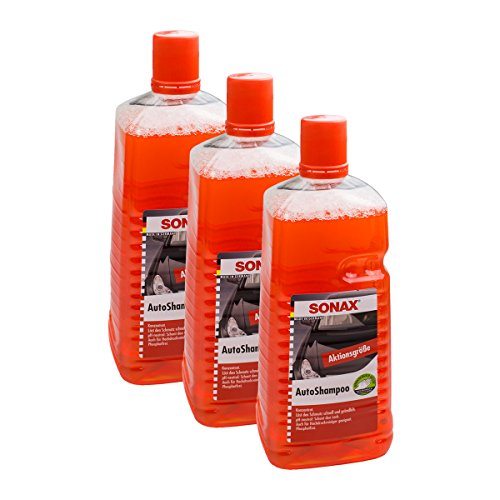 SONAX 3X 03145410 AutoShampoo Konzentrat pH-neutral 2L