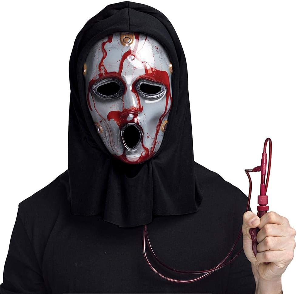 Scream Atlanta Mall The TV Series Bleeding Accessory low-pricing Mask Black Costume