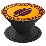 Hail to the Football Team Washington D.C. Football Team PopSockets Grip and Stand for Phones and Tablets