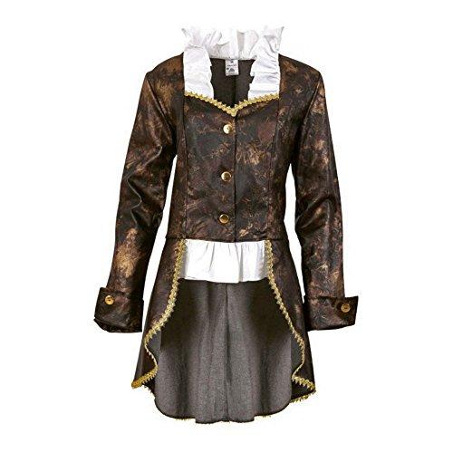 Party-Chic 13543 Damen Kostüm Leonore - Jacke mit Bluseneinsatz - Gr. 40