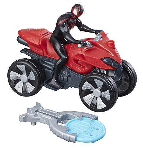 Marvel Spiderman - Figura de Vehiculo Blast & Go Kid Arachnid, B9995