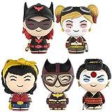 Funko Dorbz Vinyl Figures - DC Bombshells - SET OF 5 (Katana, Harley Quinn, Batgirl, Batwoman & Wonder Woman)