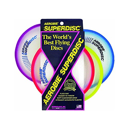 Aerobie Superdisc Outdoor Flying Disc  Colors May Vary