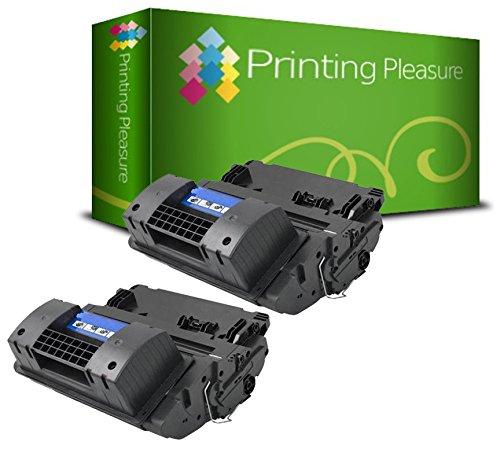 Printing Pleasure 2 Toner kompatibel zu CC364X 64X für HP Laserjet P4015 P4015N P4015DN P4015TN P4015X P4515 P4515N P4515TN P4515X P4515XM - Schwarz, hohe Kapazität