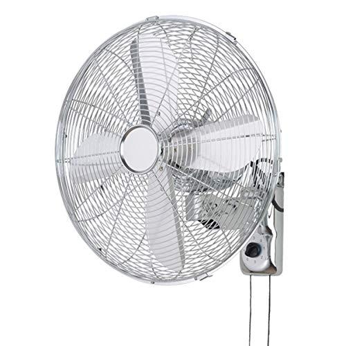 Fx Elektrischer Ventilator / Retro antiker Metallwandventilator / kommerzieller großer Windschwingenventilator,Heimindustrie mit mechanischer Doppelseilsteuerung,3-Geschwindigkeits-Innenluftkühlung