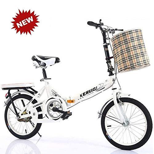 QINYUP 20 Pouces vélo Pliant Femmes est léger...