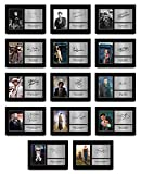 HWC Trading A4 All 14 Dr's Doctor Who Collection Komplettes