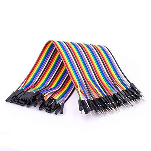 AZDelivery Jumper Wire Kabel 40 STK je 20 cm F2M Female to Male für Arduino und Raspberry Pi Breadboard