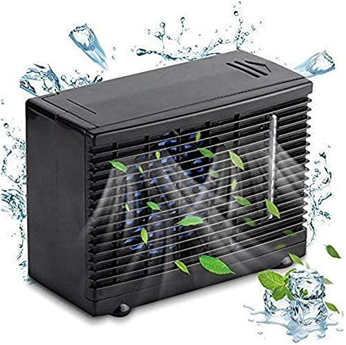 XiangRuiDa Ventilador de enfriamiento del refrigerador de autocares portátil Mini Ventilador Ventilador Aire Acondicionado evaporativo Universal 12VBeautiful